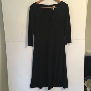 Ann Taylor loft 3/4 sleeve dress